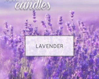 LAVENDER - Scented Soy Candle