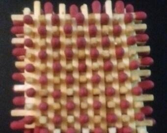 Matchstick sculpture