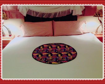 """SALE!!!---Protective Waterproof Bedding Pad """"Fire Engines"""""""