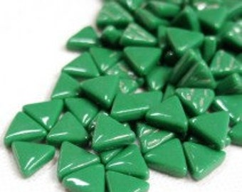 10mm Micro Mosaic Spruce Green Triangles - 50g