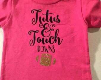 Tutus and Football - Toddler T-Shirt