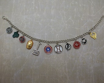 Superhero Charm Bracelet