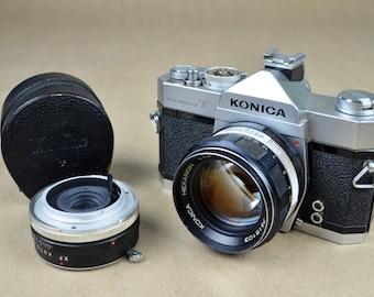 Konica Auto Reflex T 35mm Camera