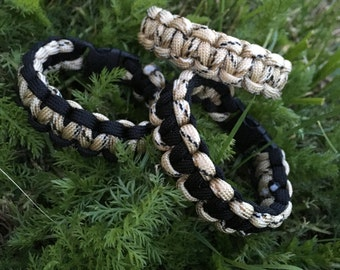 Bracelet Desert Camouflage and black