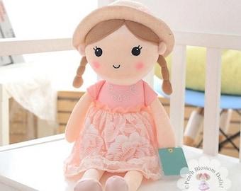 Handmade Dolls , Plush Dolls, Plush Handmade Dolls, Girls Toys, Plush Dolls