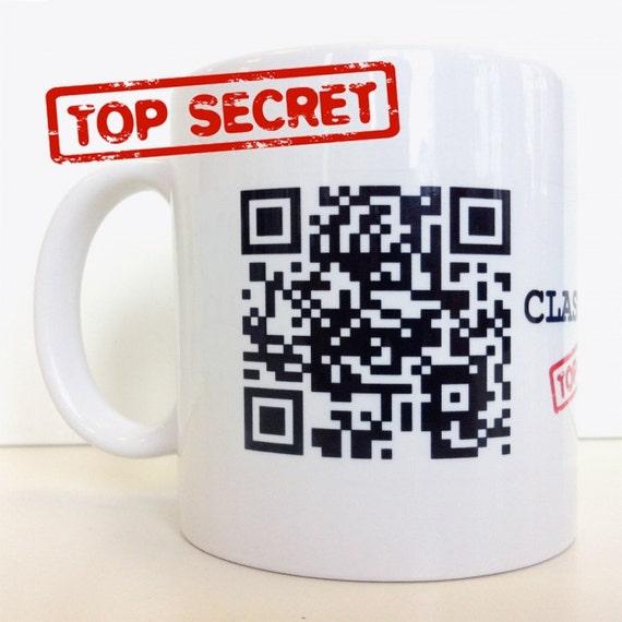Coffee Mug – Personalised QR-Code – Funny Mug with Unique Print