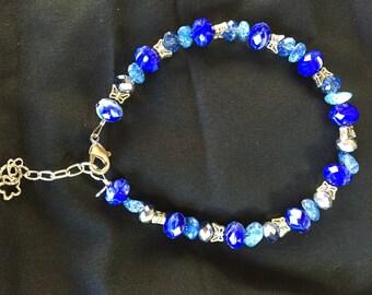 Large ankle bracelet