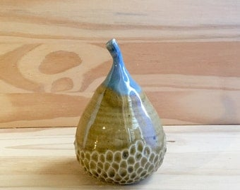 Wood Fired Stoneware, Pear