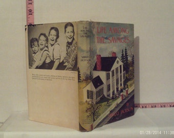 Life Among The Savages by Shirley Jackson 1953 Hardcover Book Club Edition Dust Jacket