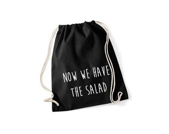 Now we have the salad - gym bags in 9 colors