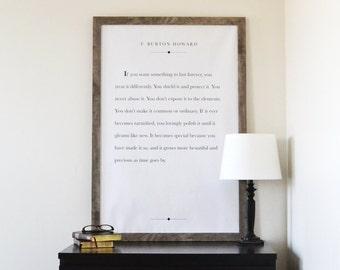 Last Forever - Home Print