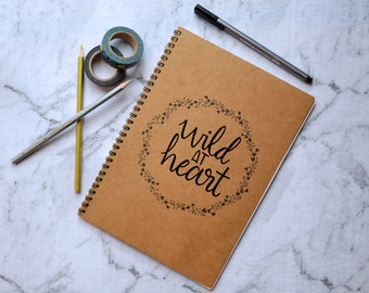 Wild at Heart Embossed Journal
