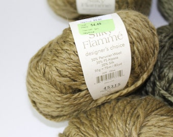 Elsebeth Lavold Silky Flamme (lot of multiple skeins)