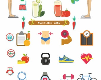 Fitness Planner Stickers,Printable stickers for planners,Training Planner,Planner Stickers,Decoration,EC Planner,Training Schedule,PDF