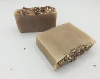 Handmade Oatmeal,Milk, and Honey exfoliating Soap