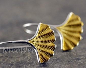 Silver earrings natural ladies jewelry earrings ear jewelry 925 gift 298