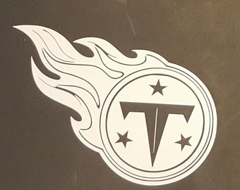 Tennessee Titans vinyl decal TN Car Truck Laptop Free Shipping!