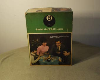 Vintage Behind the 8 Ball game