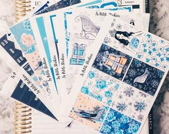 Ice Queen Deluxe Kit  - (Stickers for Erin Condren Life Planner)