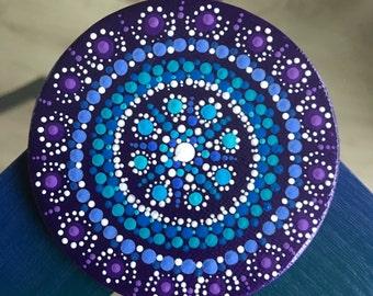 Mandala Dot Art Magnet Canvas