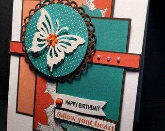 Birthday Card - Follow Your Heart
