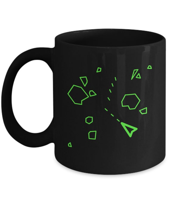 Asteroids Game Screen Mug