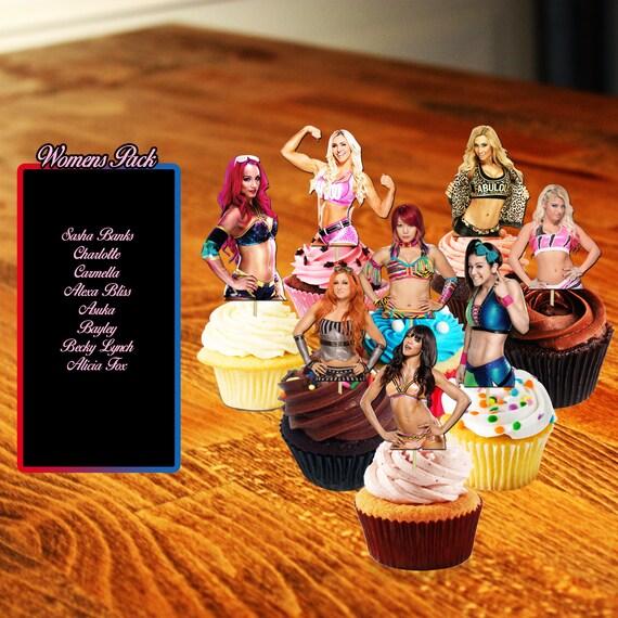 Wrestling Cake Accessories