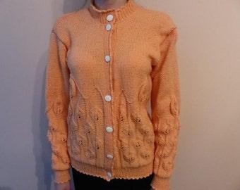 Cardigan Handmade Knit Knitwear Long sleeves