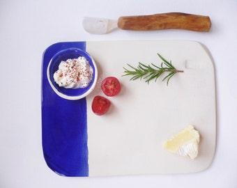 Cobalt Cheese Board