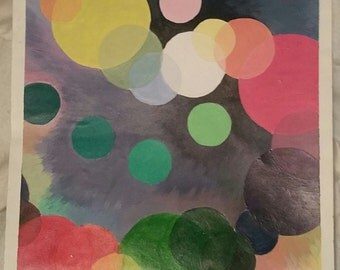 Color Wheel Abstract