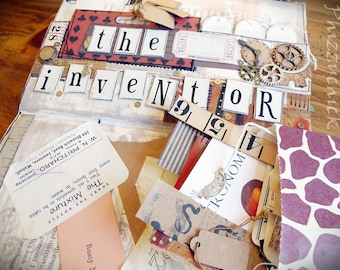 The Inventor - Paper Ephemera Kit