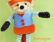 Flannigan Fox Soft Toy PDF Sewing Pattern