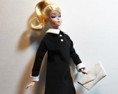 1960's Belle De Jeu YSL inspired dress Set for Severine, Barbie, Silkstone, Tammy and Pals by RETROS