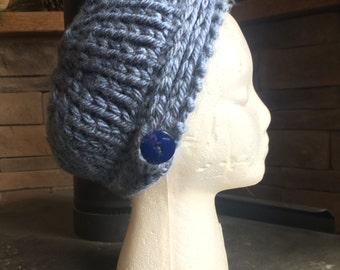 Blue Starflower Hat