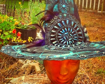 Bluemoose Costume Witch Hat            Gothic Hippie