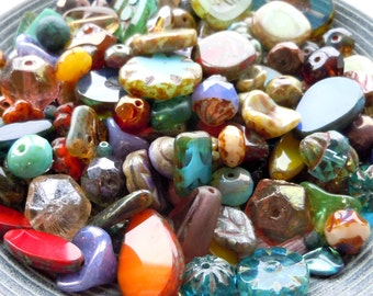 Grab Bag 30 Gram Premium Picasso Bead Assortment from Mountain Shadow Designs