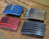 USA FLAG belt buckle