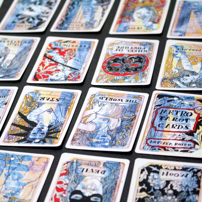 Metro tarot cards a major arcana deck major arcana traditional tarot deck jpg 1500x1500 Major aracana