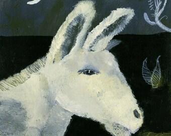 White Moon Series-White Donkey