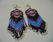 Native American Style loomed earrings