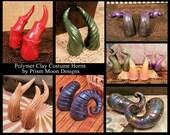 Custom Goat Horns