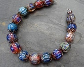 Ooh Shiny 2016 - SRA handmade glass lampwork beads Lori&Kim