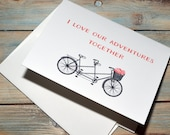 Our Adventures Valentine's day card