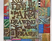 Life is Art Polymer Clay Tile Mini-Mosiac MM50001