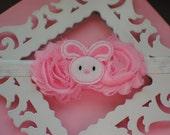 Easter Bunny Infant Headband-Pink