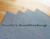 Nicoles BeadBacking 4 pack 12x9 Dove Grey
