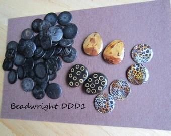 Nicole's BeadBacking African Bead Set DDD1