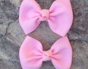 Pair of Pink Tuxedo Clippies-Ready to Ship