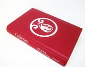 Hollow Book Safe Red Chimeras Curse Stash Keepsake Compartment Box, Geekery Gadget, Jewelry Box
