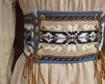 Upcycled Sweater Belt Corselet